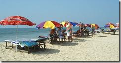 Пляж в поселке Бильгя