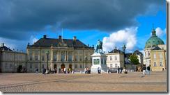 дворцовый комплекс Амалиенборг