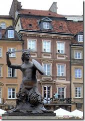 Русалка защитница – древний символ Варшавы