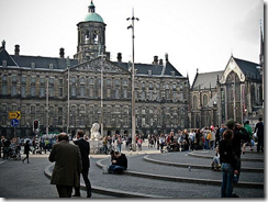 Площадь Dam square