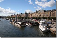Стокгольм – один из пунктов остановок морских и самых престижных регат
