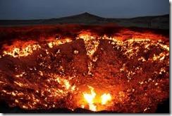 газовая воронка в Дарвазе