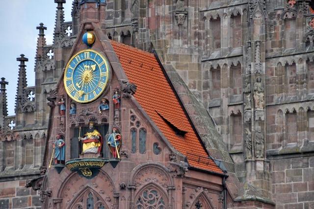 Путешествие в церкви Нюрнберга