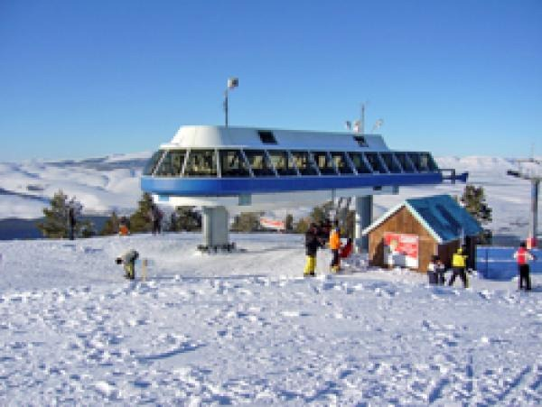 Сарыкамыш – популярный горнолыжный курорт