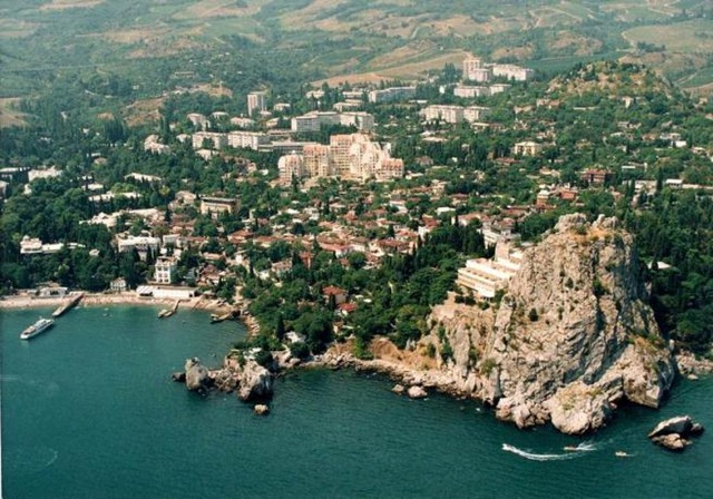 Отдых в Крыму — Гурзуф