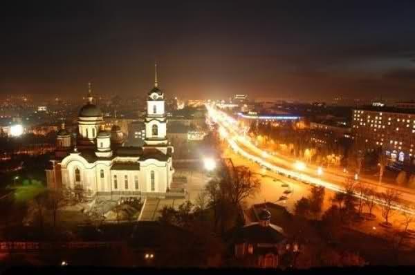 Путешествие по Донецку