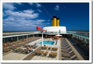 Лайнер «Costa Cruises»