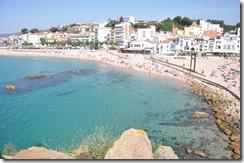 город Бланес в Испании