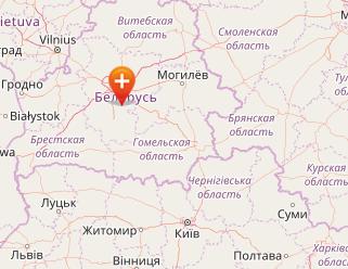 Карта Беларуси онлайн