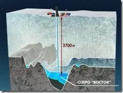 Ozero Vostok v Antarktide