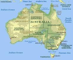 Древний континент Австралия