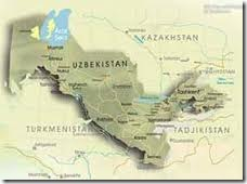 География Узбекистана