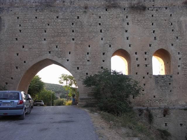 оборонительные стены города