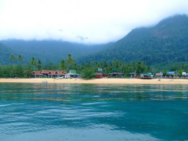 Отдых на острове Тиоман