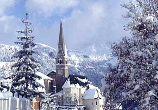 Лучший горнолыжный курорт Италии Валь Гардена
