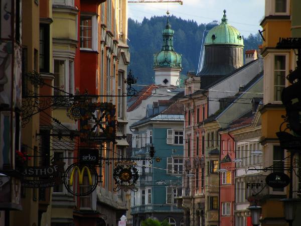 Путешествие в город Инсбрук