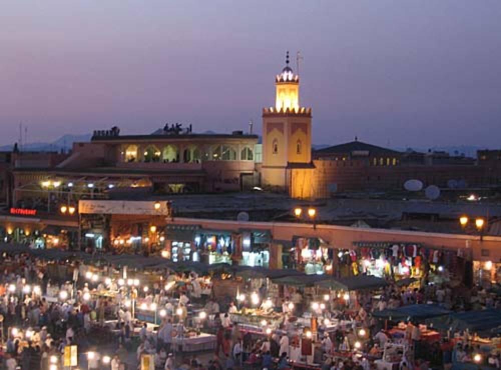 Марракеш: отдых в Красном городе