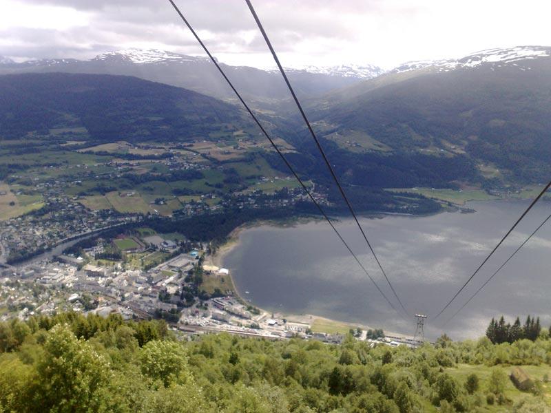 Горнолыжный курорт Норвегии - Восс